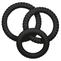 Lust - 3 Penis rings-You2Toys
