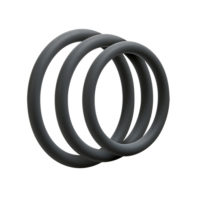 3 C-Ring Set - Thin - Slate-OptiMALE