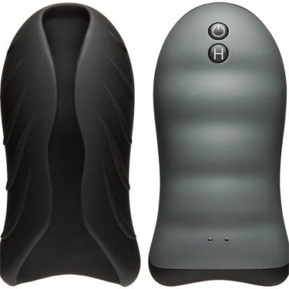 Silicone Warming Stroker - Vibrating-OptiMALE