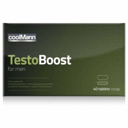 CoolMann Testoboost - 40 tablets-Coolmann
