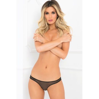 Lace Panties With Open Back-Rene Rofe