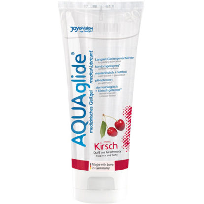 AQUAglide Cherry Lubricant - 100 ml-Joydivision