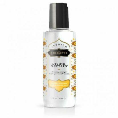 Divine Nectar Lickable Massage Oil - Coconut Pineapple-KamaSutra