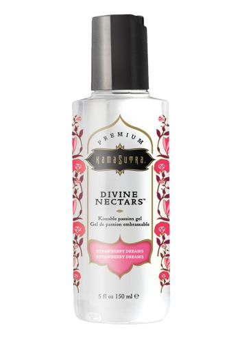 Divine Nectar Lickable Massage Oil - Strawberry-KamaSutra