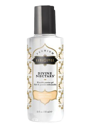 Divine Nectar Lickable Massage Oil - Vanilla-KamaSutra