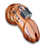 CB-6000 Chastity Cage - Wood - 35 mm-CB-X
