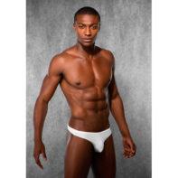 Doreanse Men's Thong - White-Doreanse