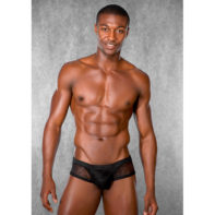 Men shorts of lace - black-Doreanse