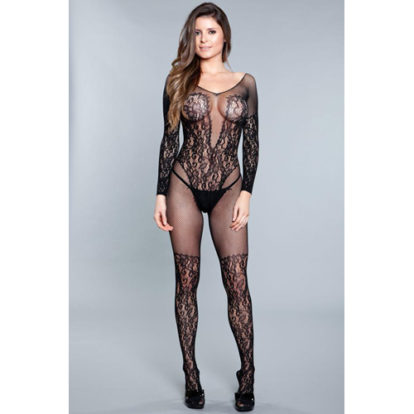 Luv Me Right Bodystocking-Be Wicked