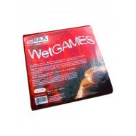 SexMAX WetGAMES Vinyl Sheet 180 x 220 cm - Red-Joydivision