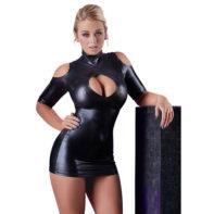 Cold Shoulder Dress-Cottelli Collection