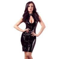 Vinyl Dress Lacing-Black Level