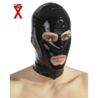 Black latex hood-The Latex Collection