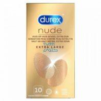 Durex Condoms Nude XL - 10 pcs-Durex