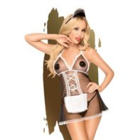 Penthouse Lingerie -Teaser French Maid Costume-Penthouse