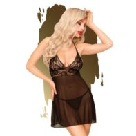 Penthouse Lingerie - Bedtime Story Negligee With Thong-Penthouse