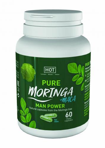 HOT BIO - Moringa Man Power Capsules - 60 Pcs.-HOT