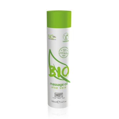 HOT BIO Massage oil Aloe Vera - 100 m-HOT Bio