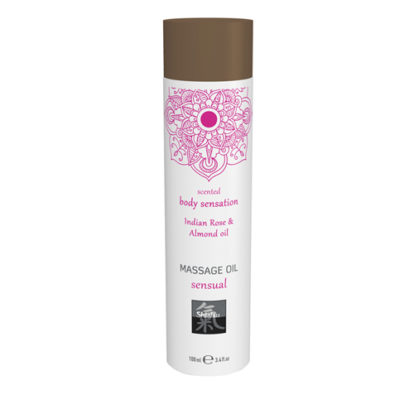 Massage Oil Sensual - Indian Rose & Almond-Shiatsu