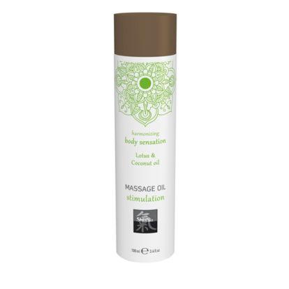 Massage Oil Stimulation - Lotus & Coconut-Shiatsu