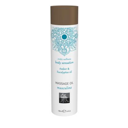 Massage Oil Masculine - Amber & Eucalyptus-Shiatsu