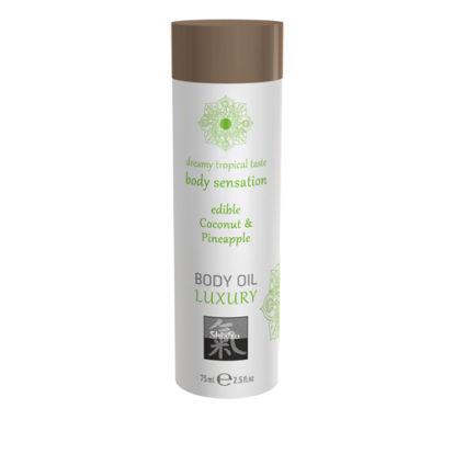 Luxury Body Oil Edible - Coconut & Pineapple-Shiatsu