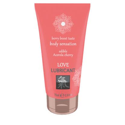 Love Lubricant edible - Acerola Cherry-Shiatsu