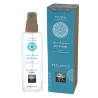 Pheromone Bed & Body Fragrance For Men - Amber & Japanese Mint-Shiatsu