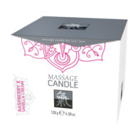 Massage Candle - Raspberry & Vanilla Cream-Shiatsu