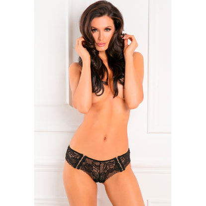 Hot Hook Up Crotchless Panty-Rene Rofe