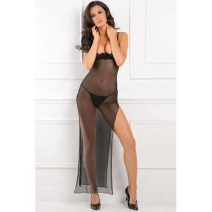 All Out There Open Cup Dress-Rene Rofe