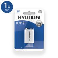 Super Alkaline 9V Battery-Hyundai