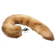 Extra Long Mink Tail Metal Anal Plug-Tailz