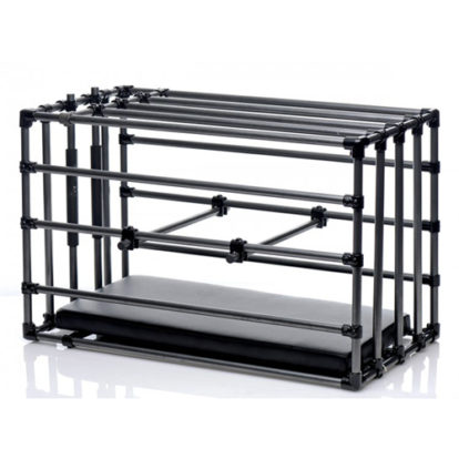 Kennel Adjustable Bondage Cage-Master Series