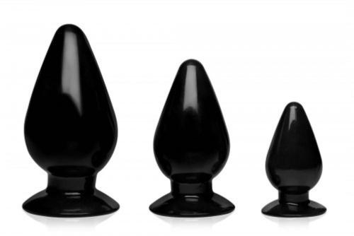 Triple Cones Anal Plug Set Of 3-Master Series