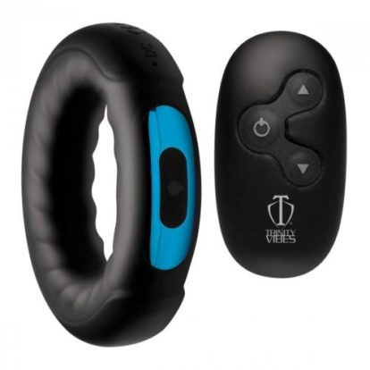 Vibrating Cock Ring With Remote Control-Trinity Vibes