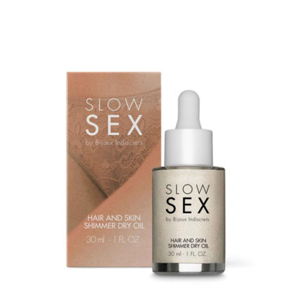 Hair And Skin Shimmer Dry Oil - 30 ml-Slow Sex