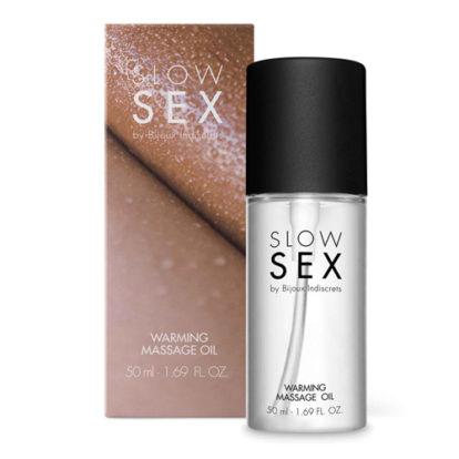 Warming Massage Oil - 50 ml-Slow Sex