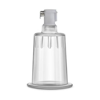 Temptasia - Clit Cylinder  - 1.2 Inch Diameter - Clear-Temptasia