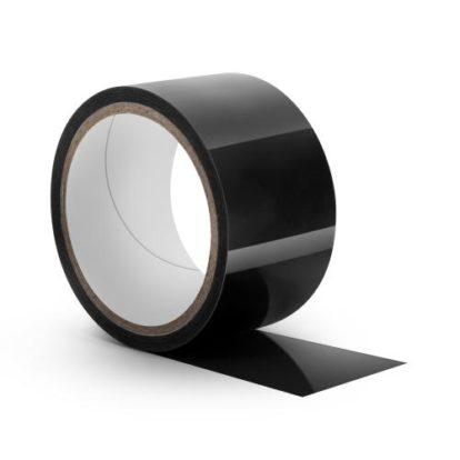Temptasia - Black Bondage Tape - 18 Meters-Temptasia