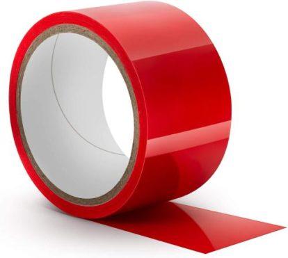 Temptasia - Bondage Tape - 60 Feet - Red-Temptasia