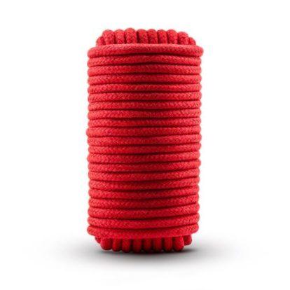 Temptasia - Bondage Rope - 32 Feet - Red-Temptasia