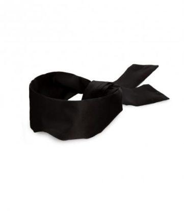 Noir - Silky Blindfold - Black-Noir