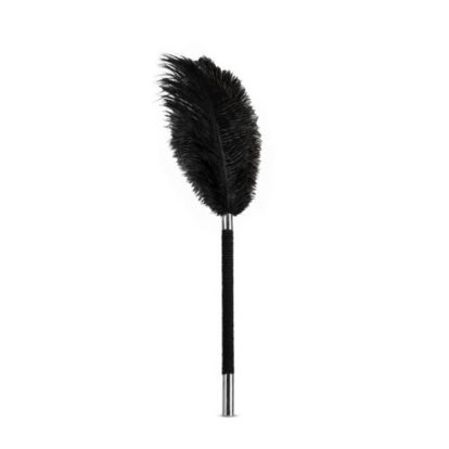 Noir - Soft Feather Tickler - Black-Noir