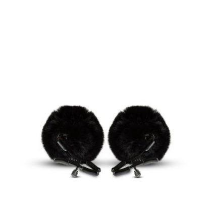 Noir - Pom Adjustable Nipple Clamps - Black-Noir