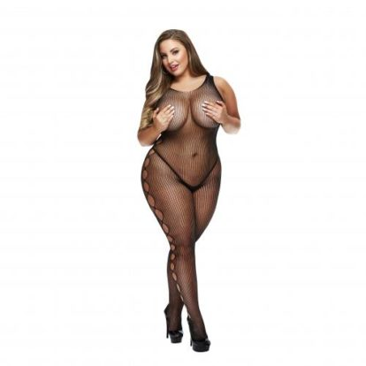 Baci - Sexy Catsuit With Revealing Sides - Curvy-Baci Lingerie