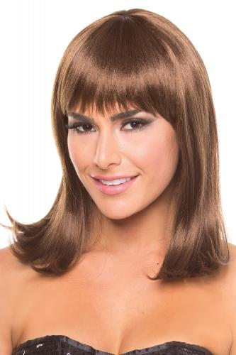 Doll Wig - Brown-Be Wicked Wigs