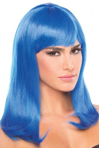 Hollywood Wig - Blue-Be Wicked Wigs
