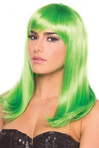 Hollywood Wig - Green-Be Wicked Wigs