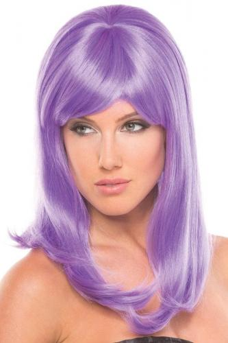Hollywood Wig - Light Purple-Be Wicked Wigs